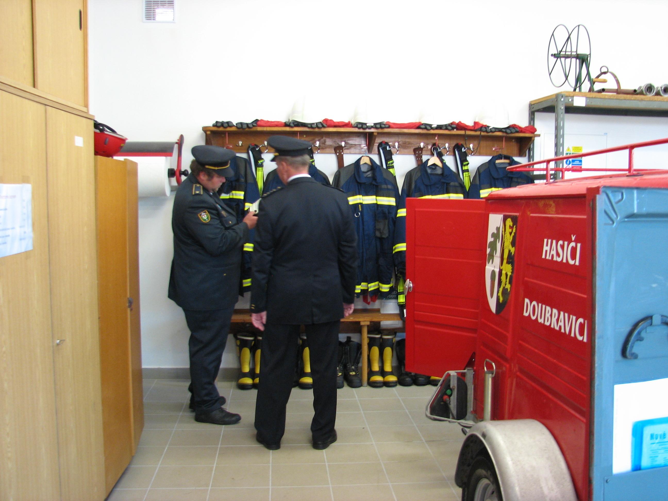 Otevírání nové hasičárny