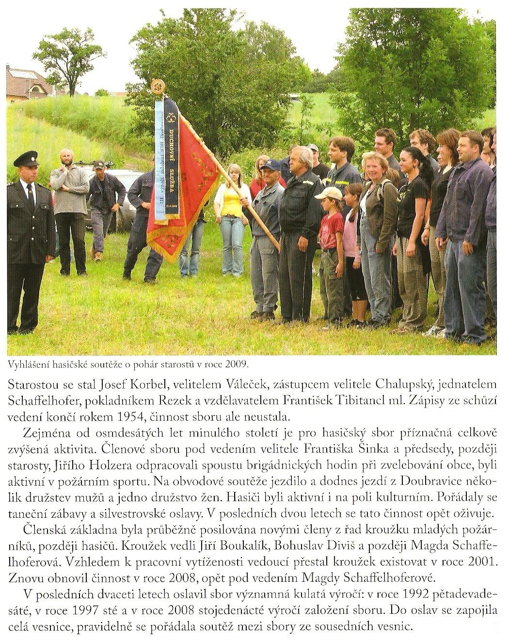 SDH Doubravice - úvod