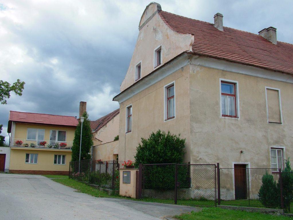 Pohled na obec Doubravice